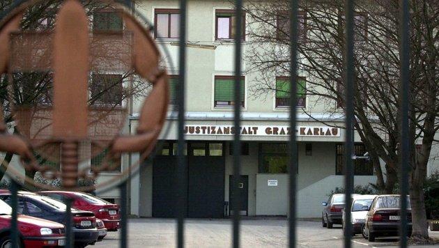 Graz-Karlau: Mithäftling mit Tischbein erschlagen (Bild: APA/Sommer Helge)
