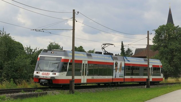 Bereits in drei Jahren könnte die LILO als S-Bahn bis nach Aschach an der Donau fahren (Bild: Werner Pöchinger)