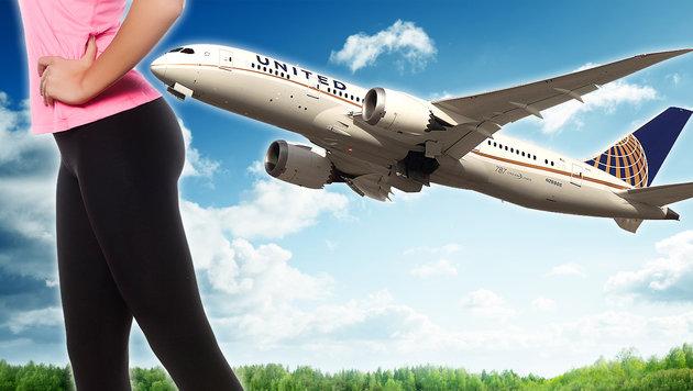 Mädchen durften wegen Leggins nicht in Flugzeug (Bild: GETTY IMAGES NORTH AMERICA, thinkstockphotos.de)