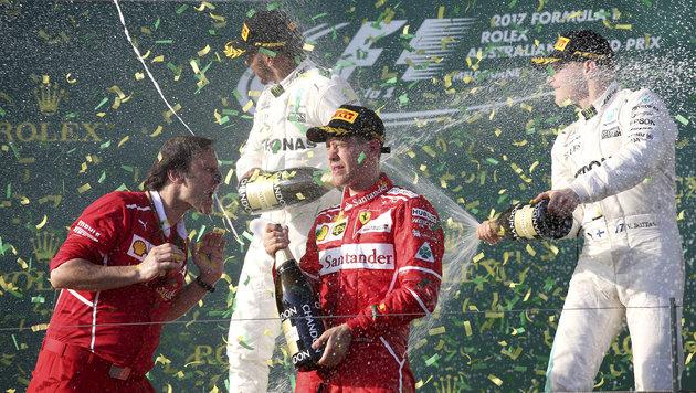 """Niki Lauda: """"Vettel ist gefahren wie ein Gott!"""" (Bild: AP)"""