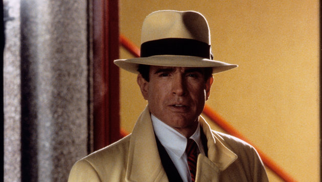 "Warren Beatty in dem Film ""Dick Tracy"" (Bild: Hollywood Picture Press, face to face)"