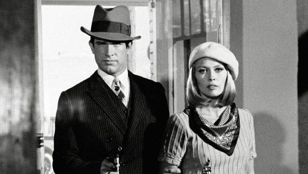 "Warren Beatty und Faye Dunaway in ""Bonnie and Clyde"" (Bild: Hollywood Picture Press/face to face)"