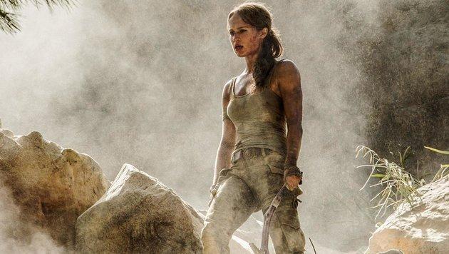 Alicia Vikander als Lara Croft (Bild: CapFSD/face to face)