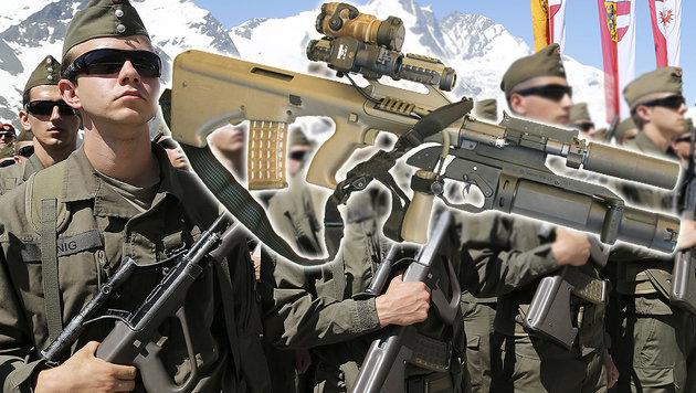 Ein neues Sturmgewehr für unsere Soldaten (Bild: APA/FRANZ NEUMAYR, Bundesheer)