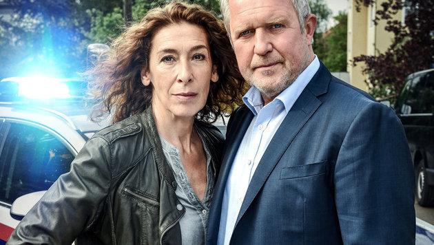 Krassnitzer und Neuhauser am 23. April um 20.15 Uhr auf ORF2. (Bild: ORF)