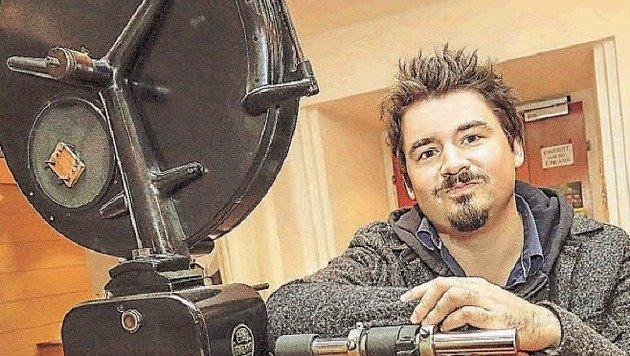 """Rinner präsentiert seinen zweiten Film """"Die Liebhaberinâ01C im Das Kino: Zu sehen am 31.03. und 2.04. (Bild: Markus Tschepp)"""
