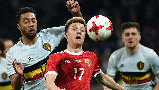 Packendes Torfestival bei Russland gegen Belgien (Bild: AFP)