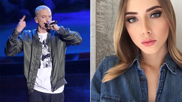 Rapper Eminems 21-jährige Tochter Hailie Scott (Bild: face to face, instagram.com/Hailie Scott)