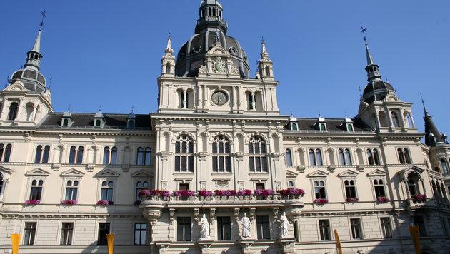 Das Grazer Rathaus (Bild: thinkstockphotos.de)