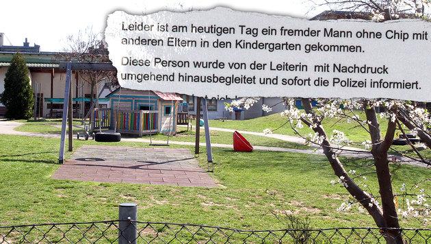 19-Jähriger schlich sich in Kindergartengruppe (Bild: Andi Schiel)