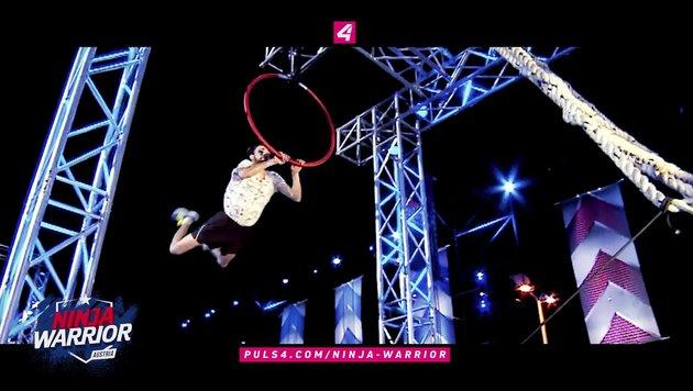 "Neue TV-Show: Puls 4 sucht den ""Ninja Warrior"" (Bild: Puls 4)"