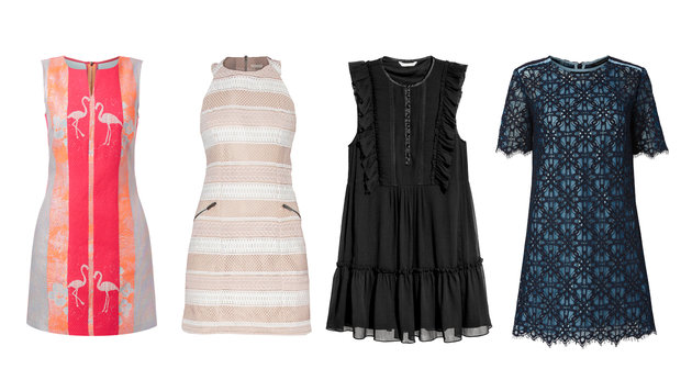 von links nach rechts: All Yours, Callisti, H&M, Tara Jarmon (Bild: P&C, Callisti, H&M)