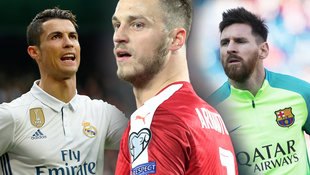 "Arnautovic ""so unersetzbar wie Ronaldo und Messi""! (Bild: AFP/CURTO DE LA TORRE, AP, GEPA)"