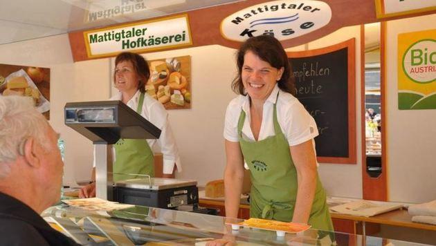Bio-Genuss von der Mattigtaler Käserei aus Seekirchen (Bild: Bio Austria)