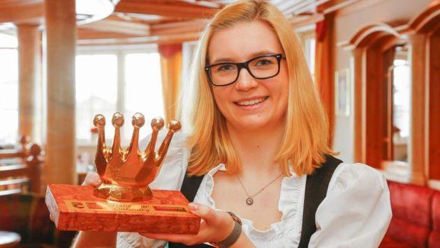 Die 19-jährige Kärntnerin Laura Kazianka hatte den Polen  als Einmietbetrüger erkannt. (Bild: Gerhard Schiel)