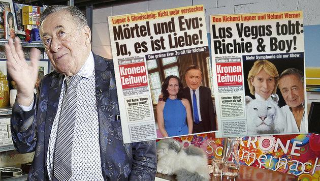 Lugner: Ein Toter, Sex in der Loge & die Eislady! (Bild: Reinhard Holl)