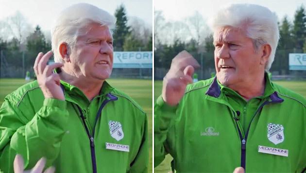 Kult-Coach Werner Lorant als Alko-Lenker erwischt! (Bild: krone.tv)
