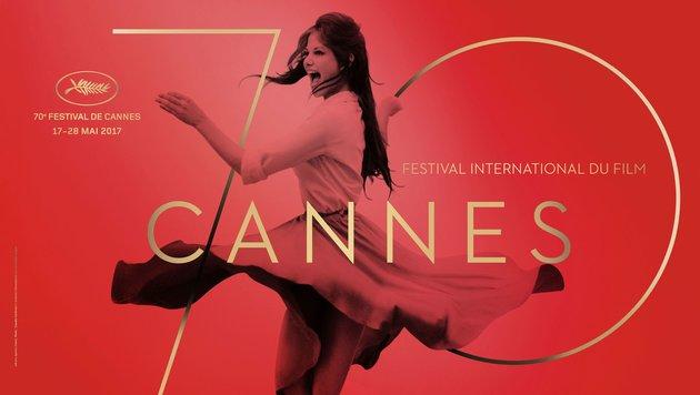 Leinwandlegende Claudia Cardinale wurde für das Plakat des Filmfestivals von Cannes dünner gemacht. (Bild: AFP)