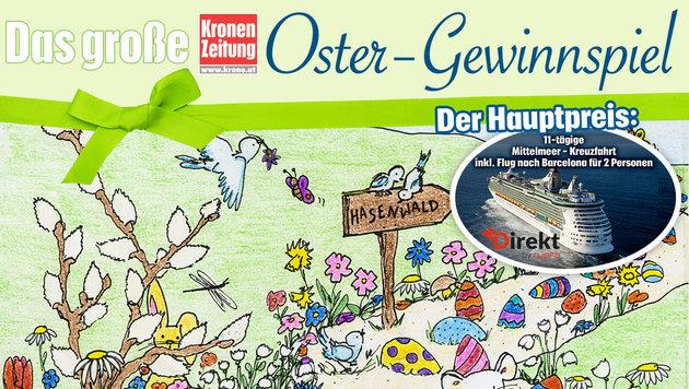 Nachlese: Das große Ostergewinnspiel (Bild: Kronen Zeitung)