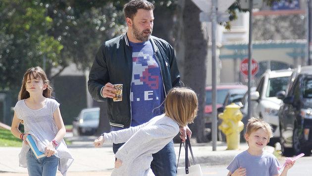 Wenn Jennifer Garner dreht, kümmert sich Ben Affleck um die Kinder. (Bild: Viennareport)