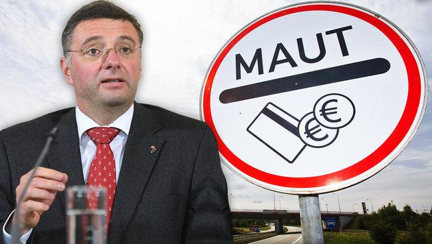 Deutsche Maut fixiert: Österreich zieht vor EuGH (Bild: APA/dpa-Zentralbild, APA/HELMUT FOHRINGER)