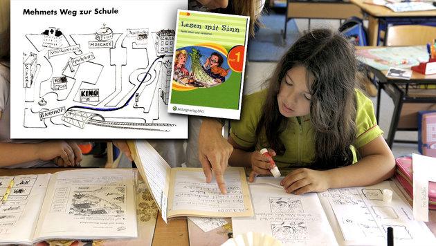 Mehmet und die Moschee: Schulbuch verärgert Eltern (Bild: Bildungsverlag EINS, APA/APA/Harald Schneider)