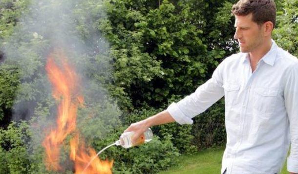 Bei Verwendung von Spiritus kommt es oftmals zu gefährlichen Vorfällen und Verbrennungen (Bild: Fotolia)