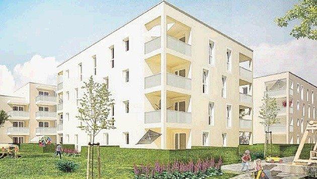 Viele neue Wohnprojekte sind landesweit im Entstehen. (Bild: Wohnbau)