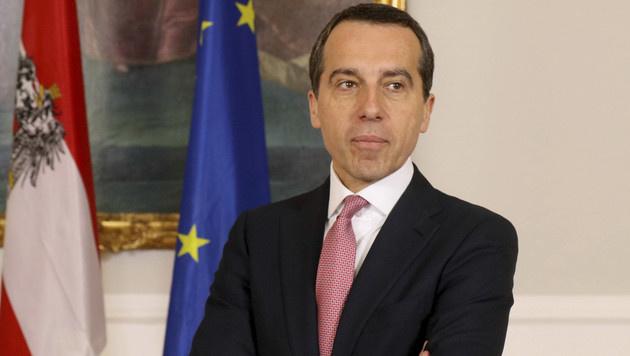 Bundeskanzler Christian Kern (Bild: AP)