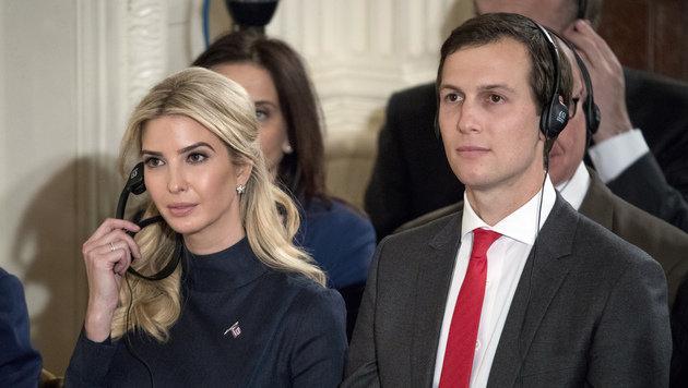 Ivanka Trump und Ehemann Jared Kuschner (Bild: Associated Press)