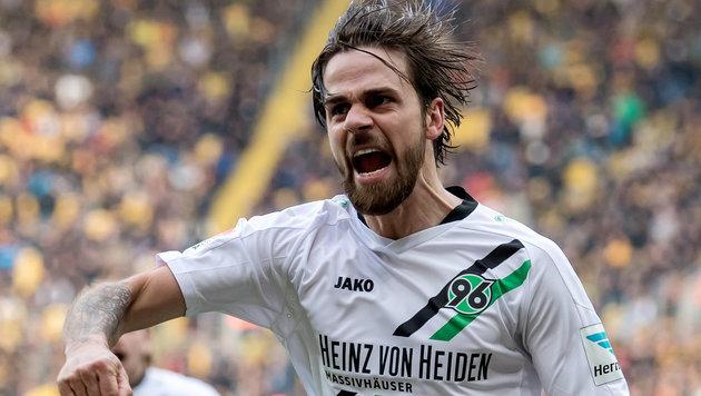 Harnik-Doppelpack bei 2:0-Sieg von Hannover 96! (Bild: dpa-Zentralbild/Thomas Eisenhuth)
