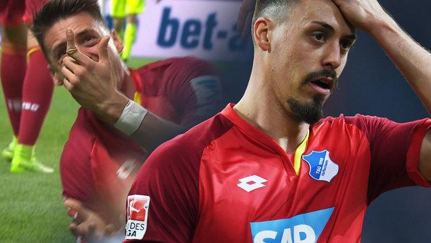 Schock! Wagner spielt trotz Finger-Unfall weiter (Bild: AFP/PATRIK STOLLARZ, twitter.com)