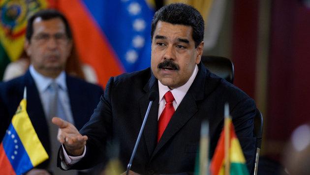 Für Präsident Maduro ist die Krise in Venezuela nun überstanden. (Bild: AFP)