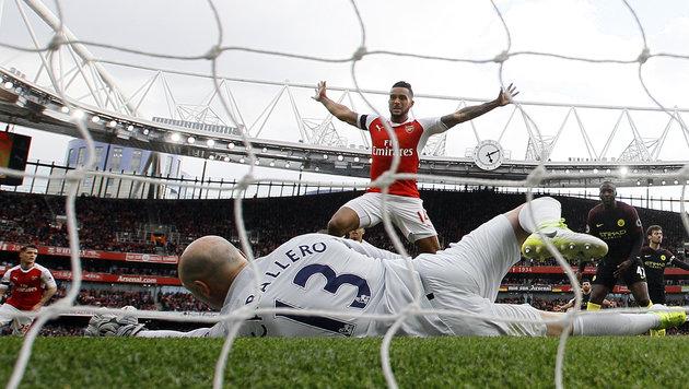 Arsenal hat das Siegen verlernt - wieder nur Remis (Bild: AP)