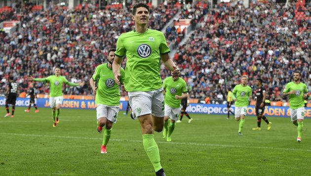 Hattrick von Gomez nervt Baumgartlinger & Dragovic (Bild: AP)
