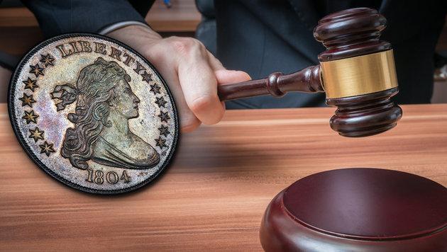 US-Silberdollar für 3,1 Millionen Euro versteigert (Bild: AP, thinkstockphotos.de)