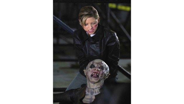 """Sarah Michelle Gellar in """"Buffy im Bann der Dämonen"""" (Bild: CapFSD, face to face)"""