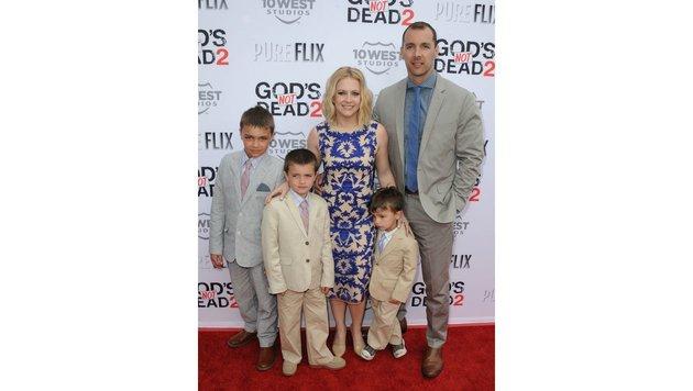 Melissa Joan Hart und ihre Familie (Bild: AUG, face to face)