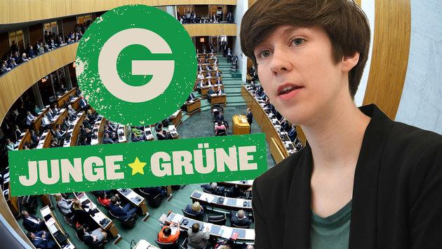 Gesamte Führungsspitze der Jungen Grünen gibt auf (Bild: APA/Roland Schlager, APA/Helmut Fohringer)