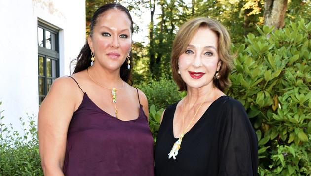 Allegra Curtis mit ihrer Mutter Christine Kaufmann (Bild: Viennareport)