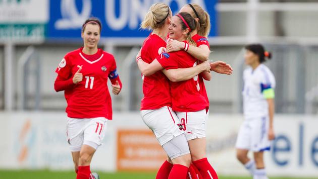 Das sind die WM-Quali-Gegner der ÖFB-Damen (Bild: GEPA)