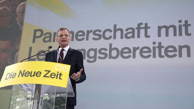 Grüne lassen es offen, ob sie Stelzer wählen (Bild: FOTOKERSCHI.AT / APA / picturedesk.com)