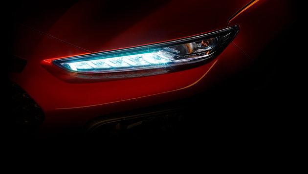 Hyundai Kona: Kleines SUV mit Sportwagen-Augen (Bild: Hyundai)