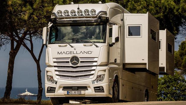 Der Magellano ist eine Villa auf Rädern. (Bild: Magellano)