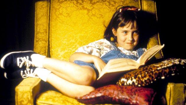 "Mara Wilson in ""Matilda"" (Bild: Moviestore Collection, face to face)"