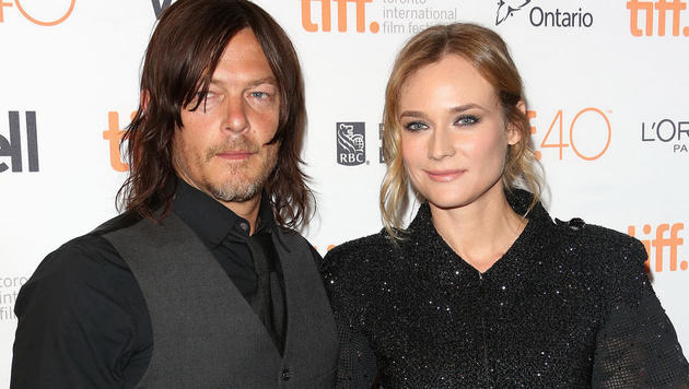 Diane Kruger mit Norman Reedus (Bild: CapitalPictures/face to face)