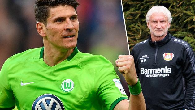 """Gomez attackiert Völler: """"Er ist kein Sportsmann!"""" (Bild: AP, GEPA)"""