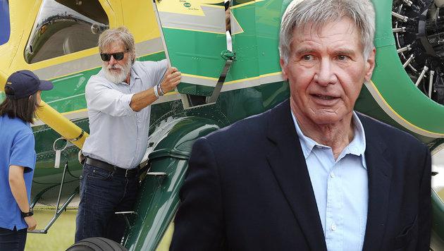 Harrison Ford darf Pilotenschein behalten (Bild: AP)