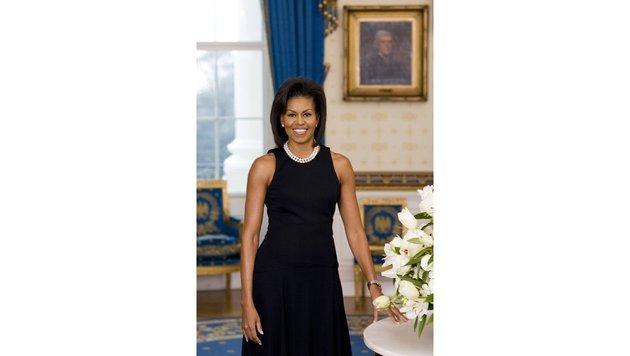 Das erste offizielle Foto der ehemaligen First Lady Michelle Obama (Bild: Viennareport)