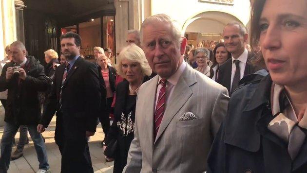 Charles und Camilla in Wien: Das war Tag eins (Bild: krone.tv)
